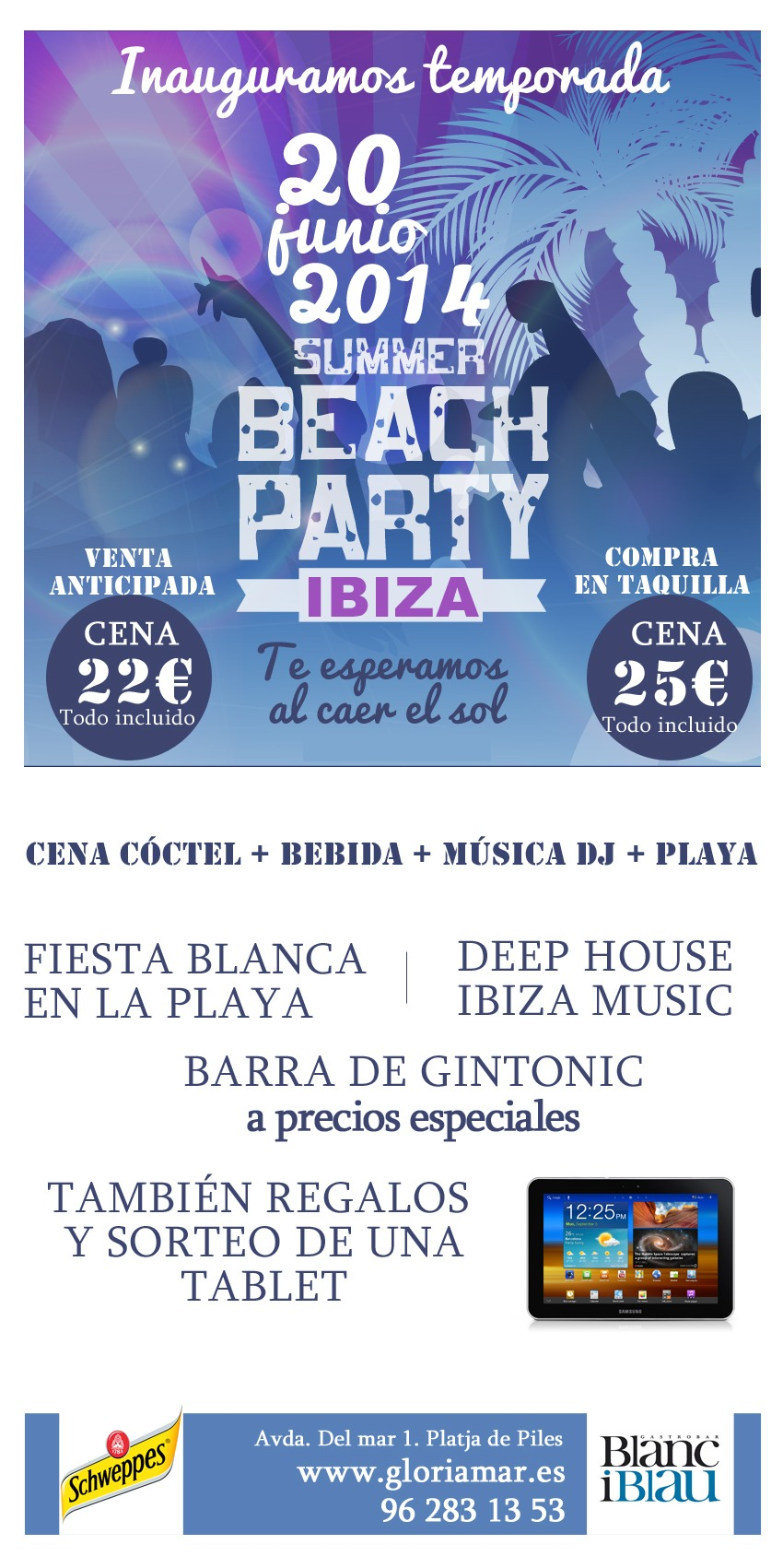 20 junio: Summer Beach Party Ibiza