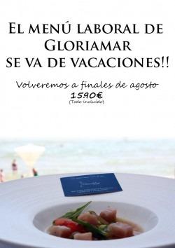 menu laboral de vacaciones