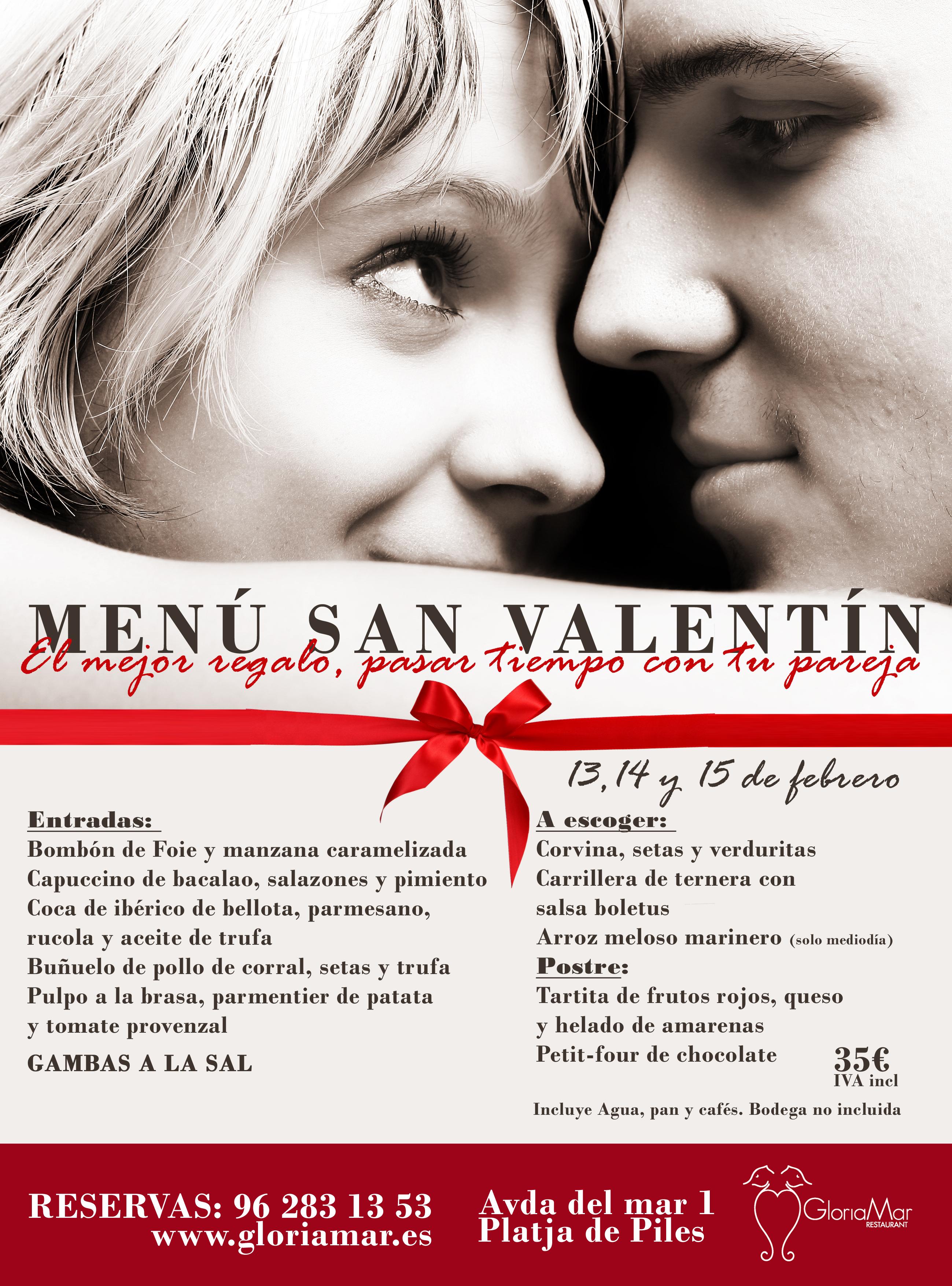 Celebra San Valentín junto al mar