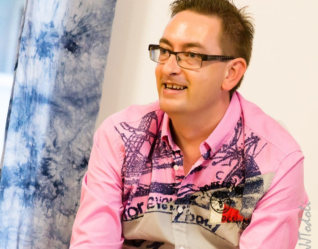 Entrevista a l'escriptor David Oliver a Gloriamar