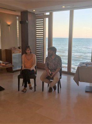 Joan Tur presenta su novela en Gloriamar