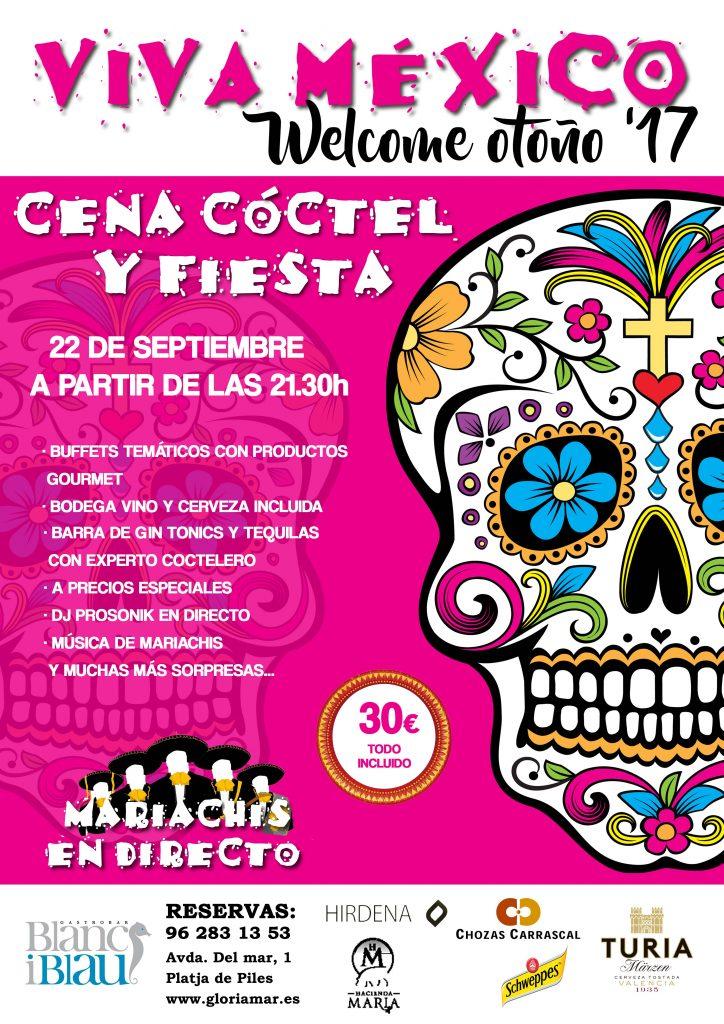 Welcome OTOÑO '17 | Fiesta Mexicana