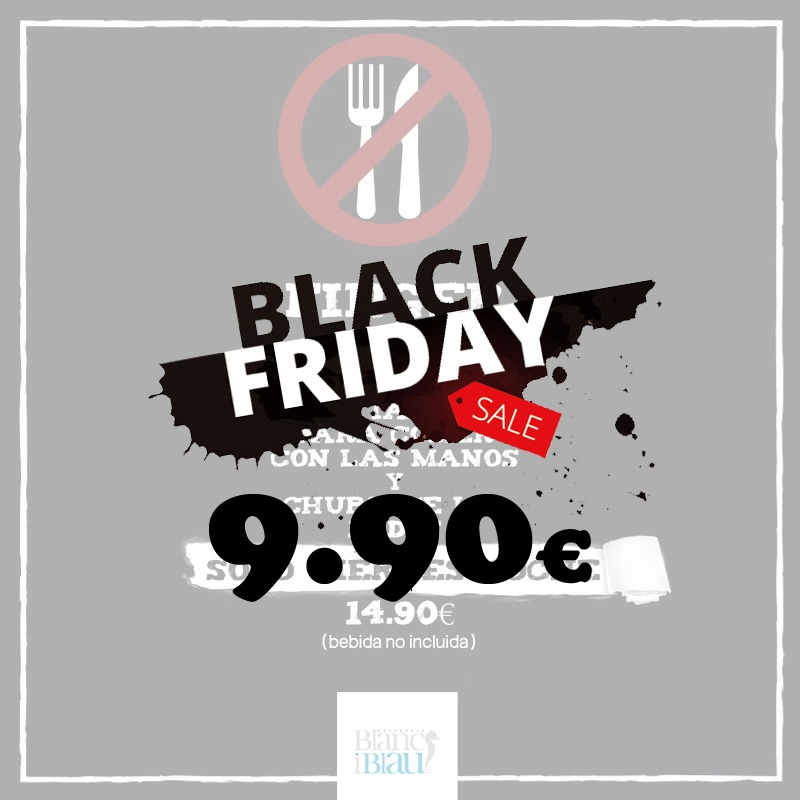Finger Food Black Friday | Blanc i Blau