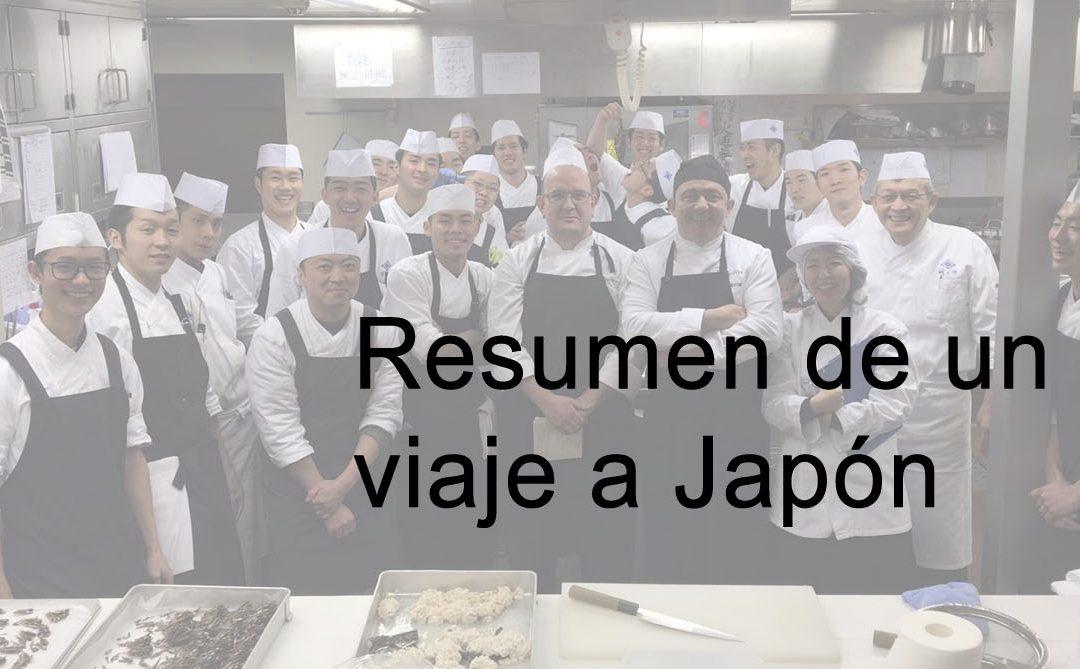 Resumen de un viaje a Japón