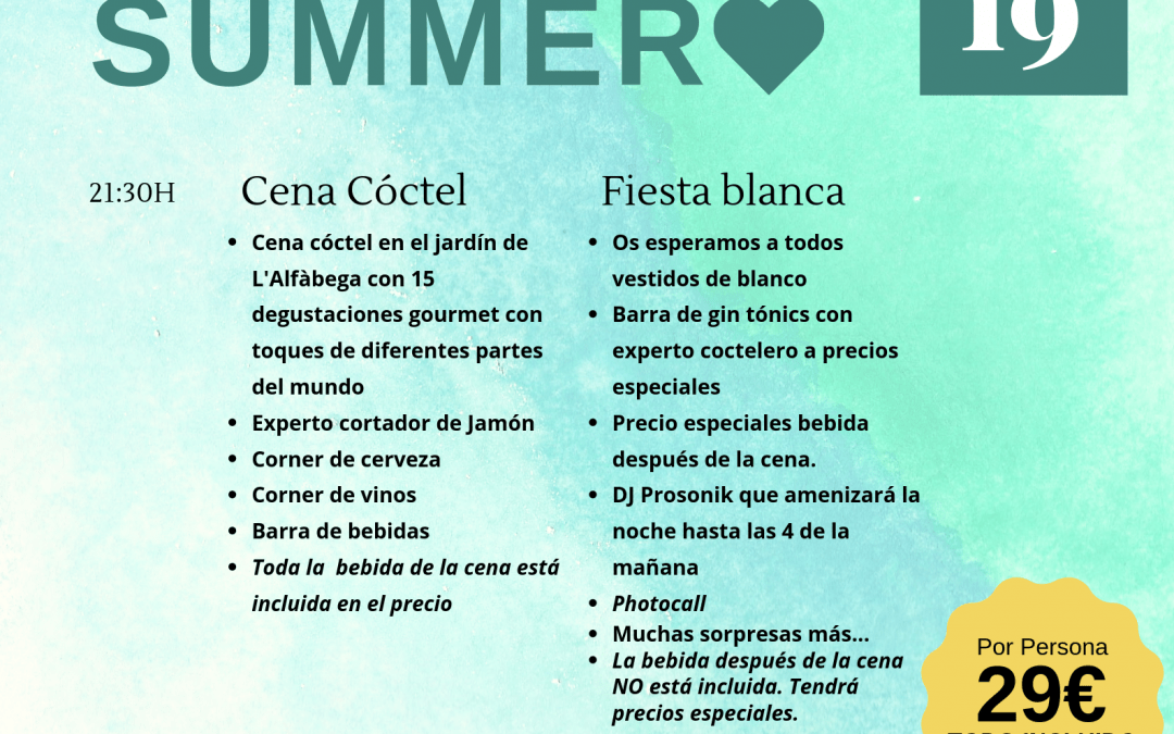 Fiesta Welcome Summer