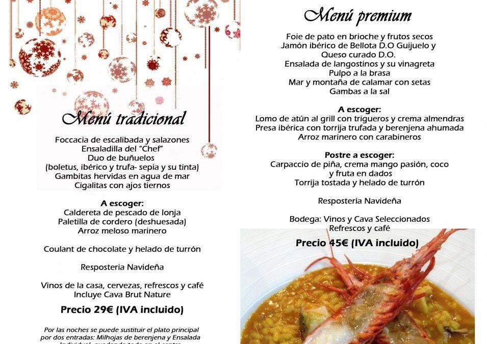Menús para comida y cena de empresa